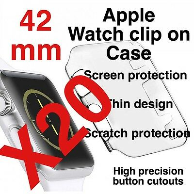 X20 Apple Watch 42mm Clip On Case Screen Protector