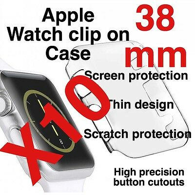 X10 Apple Watch 38mm Clip On Case Screen Protector