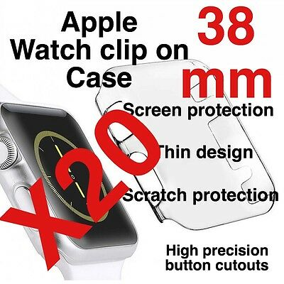 X20 Apple Watch 38mm Clip On Case Screen Protector
