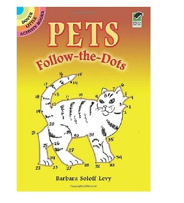 Coloring Book For Adult Or Children Create Drawings Pets Follow Dots Picture,One