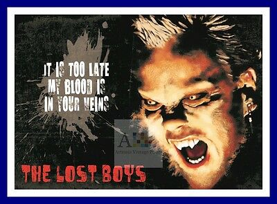 The Lost Boys 2  Vampire Dracula Movie Posters Classic Vintage