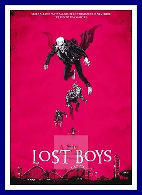 The Lost Boys 3  Vampire Dracula Movie Posters Classic Vintage