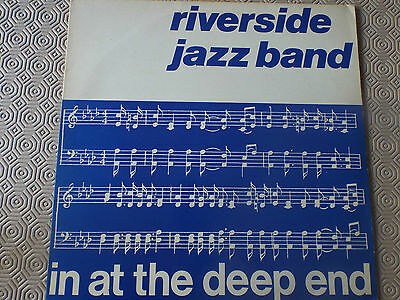 Riverside Jazz Band - In At The Deep End - LP - BURL016