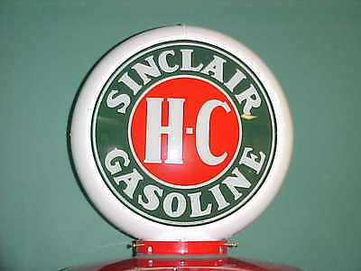 Sinclair H-C Gas Pump Globe