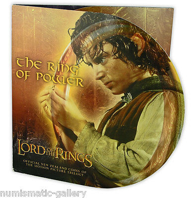 New Zealand 1 Dollar 2003 Lord Of Rings - The Ring Of Power Mint Pack