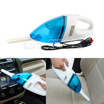 12V Wet & Dry Vacuum Cleaner Mini Portable Handheld Car Auto Home Rechargeable