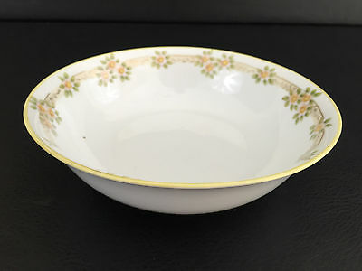 large porcelain serving dish, hand painted, Nippon 1891-1929