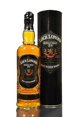 Loch Lomond 21 Year Old Single Malt Scotch Whisky 700 Ml