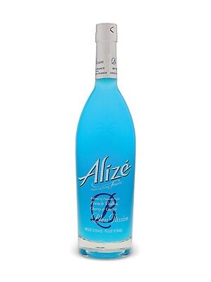 ALIZE BLEU BLUE PASSION FRENCH COGNAC LIQUEUR 750mL