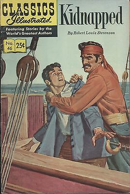 Classics Illustrated #46 Summer 1970 Ungraded Uncertified Kidnapped By Stevenson