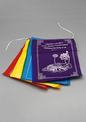 Tibetan Healing Prayer Flags-Nepal with Individual Messages in every flag