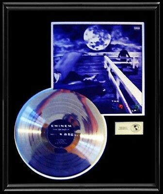 Eminem Slim Shady Rare Gold Record Platinum Disc Lp Album Frame