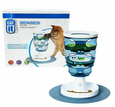 Catit Design Senses Treat Maze Treat Snacks Maze Game Challenge Paw Massage Cats