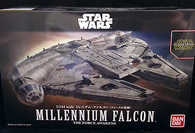 Bandai 1/144 Star Wars Model Kit Resistance Millennium Falcon The Force Awakens