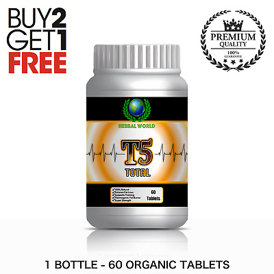 60 T5 Fat Burners Strongest Legal Slimming + Diet Pills For Extreme Weight Loss
