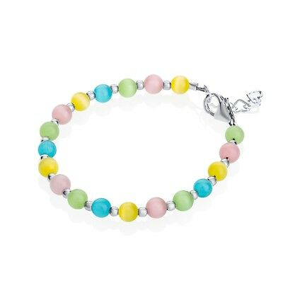 Multi Color Cats Eye Beads Bracelet