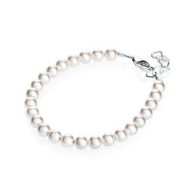 Baby & Children's Bracelet with Swarovski White Pearls