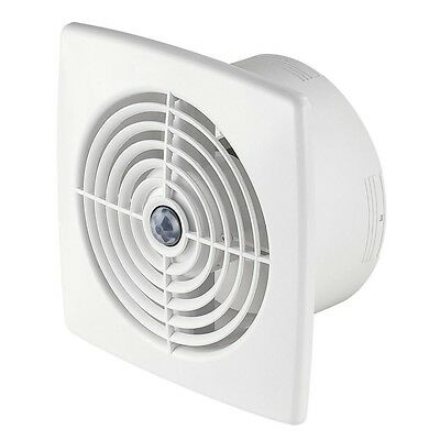 "Bathroom Extractor Fan 100mm / 4"" Timer and Motion Sensor Kitchen Toilet WR100R"