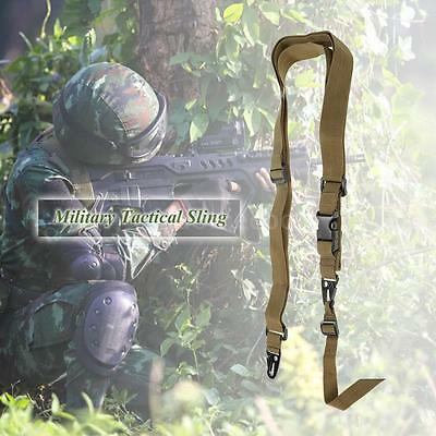 New Three Point NEW Belt Military Tactical Safety Nylon Strap Sling W6K9