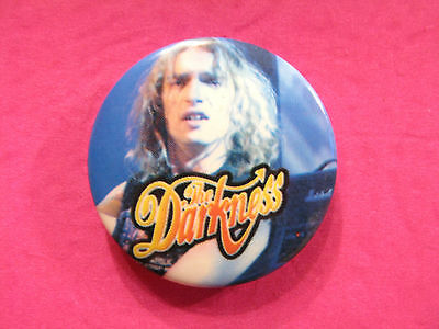 "Darkness 1"" Badge  Button Pin Uk Import Vintage"