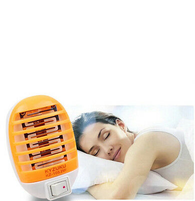 Insect Trap Killer Hot Night Lamp LED Zapper Bug Socket Mosquito Fly