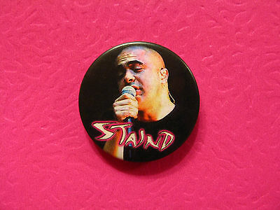 """Staind Vintage 1"""" Badge  Button Pin Uk  Import"""
