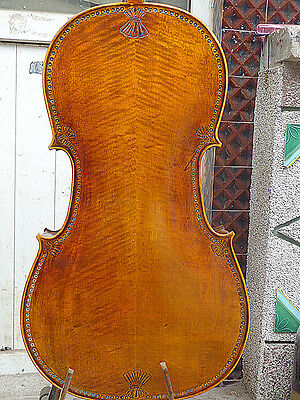 Top quality Cello 4/4 Size full Hand made antique old style handcarved