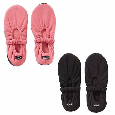 BONDS WOMENS HOME SOCKS Twisties Soft Comfy Slippers Black Pink Shoes Size 2 - 8