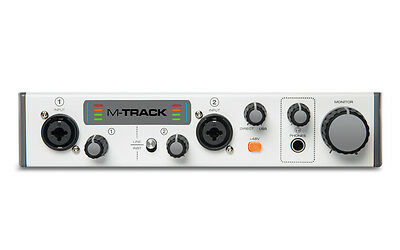 M Audio M Track Mk2 2 Channel Usb Audio Interface