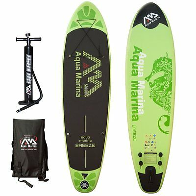 AQUA MARINA Breeze SUP inflatable Stand Up Paddle Surfboard Modell 2016 Board