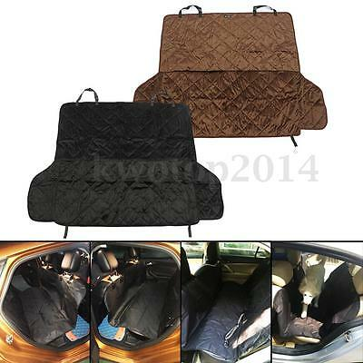Waterproof Pet Cat Dog Car Seat Cover Hammock Bench Protector Mat For Trunk SUV