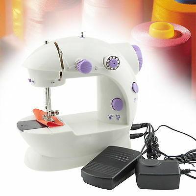 GOOD new Portable Mini Electric Sewing Machine Household Desktop ca