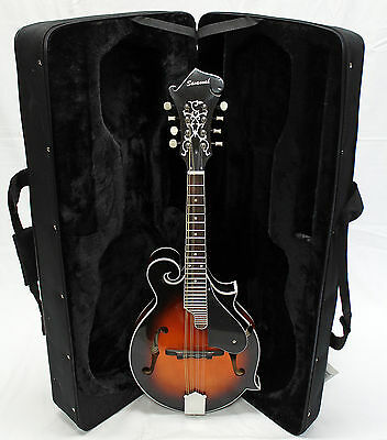 Savannah SF-100 F-Style Sunburst Mandolin with Case