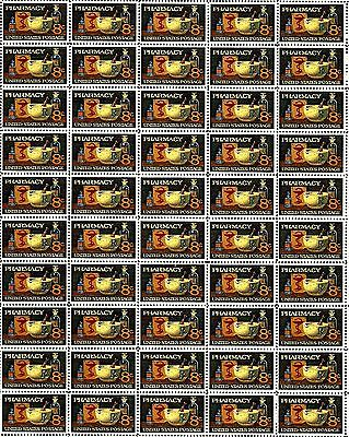 1972 - PHARMACY - #1473 Full Mint -MNH- Sheet of 50 Postage Stamps