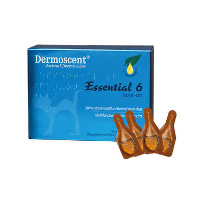 Dermoscent Essential 6 Spot-On pour Chat - 4 pipettes