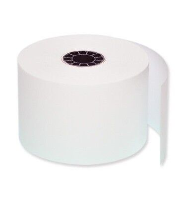 "3"" x 165' CARBONLESS BOND PoS RECEIPT PAPER 300 ROLLS ** FREE SHIPPING **"