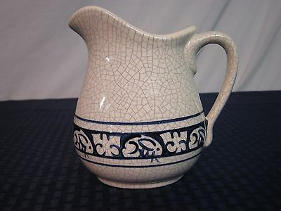 The Potting Shed Dedham Rabbit Creamer/Pitcher. Dated 2002. Signed. Perfect.
