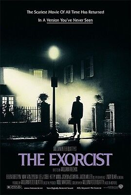 The Exorcist 8X10 11x17 16x20 24x36 27x40 Vintage Movie Poster Linda Blair A