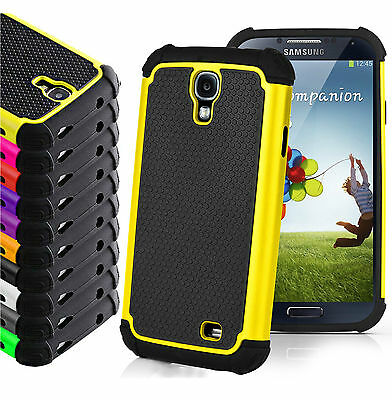 Hybrid Armor Shockproof Rugged Rubber Hard Cover Case Skin for Samsung Galaxy