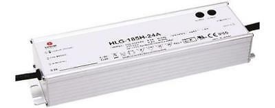Mean Well HLG-185-30A, Constant Voltage Dimmable LED Driver 186W 30V dc 6.2A