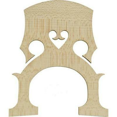 Double Bass Bridge, Maple, French Style, Choose 4/4,3/4,1/2,1/4,1/8, Seller