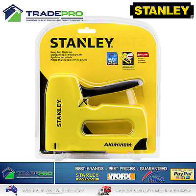 Staple Gun Stanley® Sharpshooter PRO Aircraft Aluminium Heavy Duty Stapler TR150