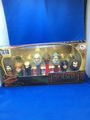 The Hobbit PEZ Candy Dispensers: 8 Piece Collector's Series