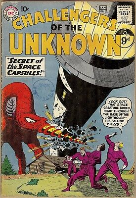 Challengers Of The Unknown #17 - VG+