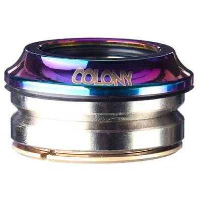 Colony BMX Headset - BMX Bike Head Set - Rainbow / Jetfuel / Oilslick