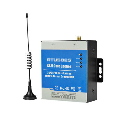 New Version RTU5025 GSM SMS 2G/3G Gate Door Opener Operator with Remote Control