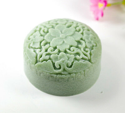 Flower S455 Silicone Soap molds Craft  DIY Handmade soap Mold Mould