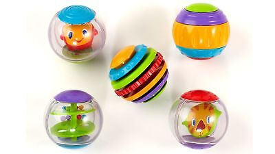 Bright Starts Shake and Spin Activity Balls with Multiple Textured Surfaces