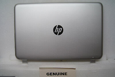 EX-CONDITION HP Pavilion 15-P117NA Silver Rear LCD Lid Cover Plastic 762514-001