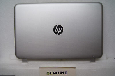 HP Pavilion 15-P117NA Silver Rear LCD Lid Cover Plastic 762514-001